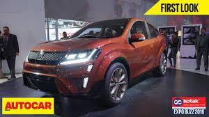 autocar new car release datesMahindra XUV Aero concept revealed at Auto Expo 2016  Autocar India