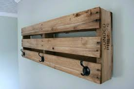 Wooden Wall Mounted Coat Rack