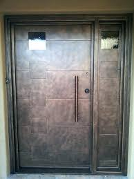front entry doors with glass custom fabricated modern front entry doors glass double front entry doors