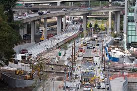 Portland Milwaukie Light Rail Bridge Good News For Drivers Sw Moody Avenue Reopens 8 Hours