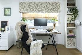 Stylish home office desks Innovative Stylish Home Office Work With The Light Home Office With Its Window Dressed In Deia Taupe Rememberingfallenjscom Stylish Home Office Nutritionfood