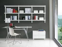 wall shelves for office. Home Office Wall Mounted Shelves For