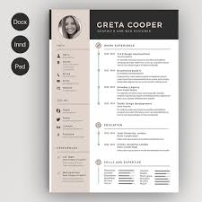 Creative Resume Templates Microsoft Word Stunning Creative Resume Template For Microsoft Word Yelommyphonecompanyco