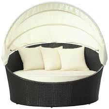 outdoor wicker daybed. Fine Outdoor Liverpool Moon Wicker Round Daybed In Outdoor S
