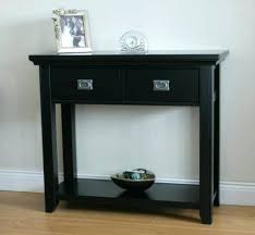 black hallway table. Black Hall Table With Drawers Hallway Winsome Wood