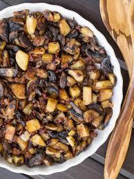potato mushroom breakfast recipe
