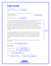 Ideas Of Writing A Business Letter Format Cc For Cover