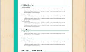 Free Sample Resume Template Collection - Resume Template Ideas - Part 4