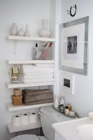 Over The Toilet Bathroom Shelves Fascinating Bathroomhelving Picture Inspirations Brushed Nickel
