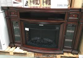 electric fireplace costco dubious well universal 72 a mantle furniture ideas