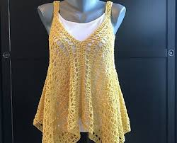 Crochet Tank Top Pattern New Very Easy And So Fabulous Crochet Tank Top Free Pattern Knit And
