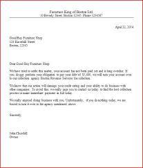 dept collection letter collection letter sample business letter samples englet com