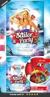 Hot Summer Beach Party Club Spring Print Flyer Templates To Download ...