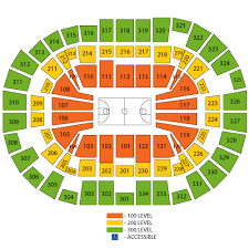 Breakdown Of The Moda Center Seating Chart Portland Trail