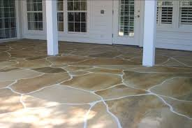 stamped concrete flagstone twin falls idaho stained concrete can