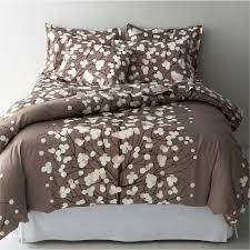 cream fabric curtain charming simple modern duvet cover design idas featuring white fabric seat and white wall plus brown