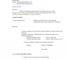 Beautiful Mbbs Cv Format Contemporary Entry Level Resume