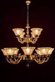 casual glass chandeliers