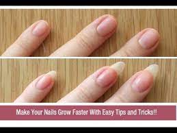 how to grow nails faster naturally