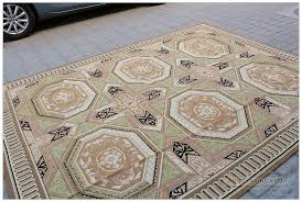 aubusson rug 8x10 geometric exquisite