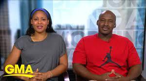 WNBA star Maya Moore and Jonathan Irons ...