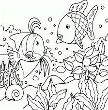 Small Picture Under The Sea Free Printable Adult Coloring Pages Free Printable
