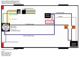 trailer wiring diagram with brakes & 6 way round trailer wiring tractor trailer wiring diagram at Isuzu Trailer Plug Wiring Diagram 7