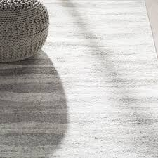 Mercury Row Lada Abstract Waves GrayWhite Area Rug Reviews Wayfair
