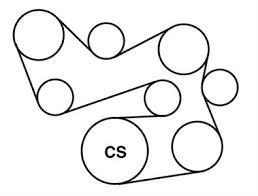 serpentine belt diagram for oldsmobile cutlass fixya replace serpentine belt 1998 olds cutlass