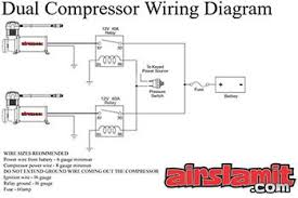 air ride suspensions air suspension kits airbag suspensions dual air suspension compressor wiring instruction diagram