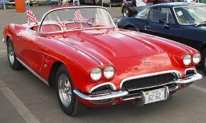 1962 Chevrolet Corvette - Red - Front Angle