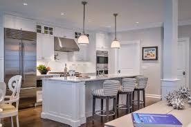 Pendant Lights In White Kitchen White Kitchen Island Bar Stools Pendant Lights Dish Rack