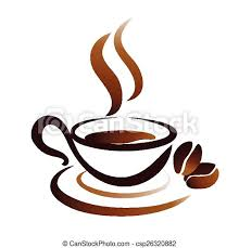 Porcelain mug seen form the top, dark liquid inside. Vector Sketch Of Coffee Cup Icon Sketch Of Coffee Cup Stylized Vector Icon Canstock