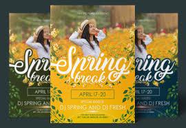 Spring Flyer Psd Mockup Template Mockup Free Downloads