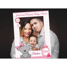 baby shower photo booth frame baby shower frame prop teddy bear girl baby shower photo booth prop baby shower selfie frame 10011186