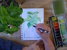Watercolor Sketching - Part 1 BONUS VIDEO - with Cathy Johnson - YouTube