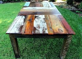 rustic wooden outdoor furniture. Rustic Wood Outdoor Furniture Best Wooden Table Ideas On Tables N