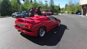 1998 Lamborghini Diablo Roadster VT For Sale - YouTube