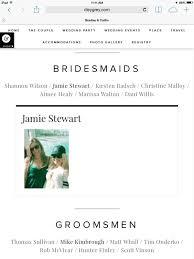 My Wedding Website It Girl Weddings