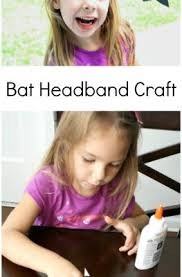 Bat Headband Halloween Craft for Preschool 263x400