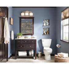 Shop allen + roth Hagen Espresso Undermount Single Sink Bathroom ...