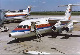 Vintage Airline Seat Map United Express British Aerospace