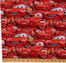 SC395 <b>Disney</b> Cars 3 Panel <b>100</b>% <b>Cotton</b> fabric by the Panel