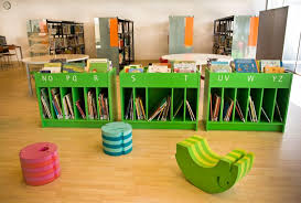contemporary library furniture. Bold Design Childrens Library Furniture Contemporary Decoration Stunning Kids Unique Bench Bookshelves M