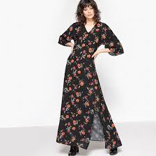 фото <b>Платье длинное с</b> рукавами 3/4 <b>La Redoute</b> Collections ...