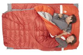 Sierra Designs Double Sleeping Bag Backcountry Bed Duo 20 700 Dridown