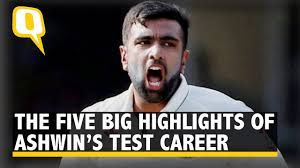 the quint the five big highlights of ravichandran ashwin s test the quint the five big highlights of ravichandran ashwin s test career