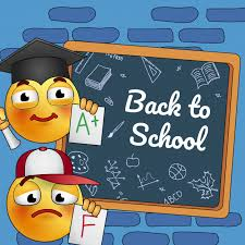School Poster Designs Back To School Poster Design Cartoon Studying Smiley At Board With
