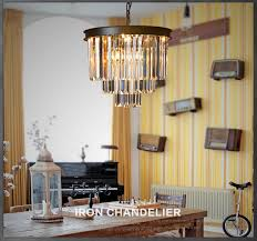 1920s odeon clear glass fringe 3 tier chandelier light fixtures in china