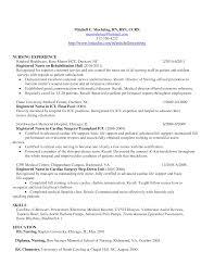 53 Nursing Sample Resume Sample Resume Of A Nurse Sample